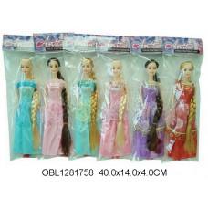 кукла длинный волос 6 видовCF23ТК134059