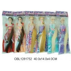 кукла длинный волос 6 видовCF19ТК134060