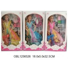 кукла длинный волос 3 вида1518ТК134157