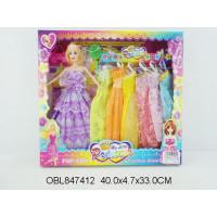 кукла с платьями 2 цвета5689-18AТК134259