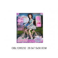 кукла на велосипеде91007-DТК134515