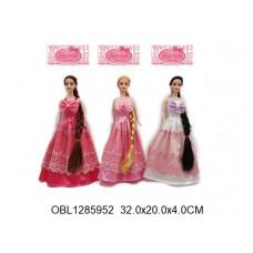 кукла длинный волос 3 видаYT2485ТК134543