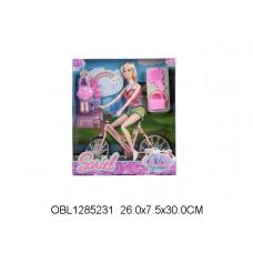 кукла на велосипеде91007-CТК134552