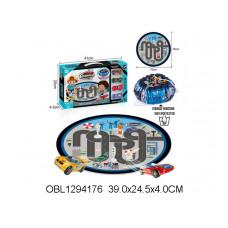 гонки металл. набор с ковром для хранения6688-153AТК134962