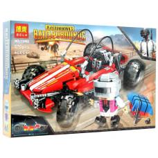 """Конструктор BELA Battlegrounds """"Гоночный автомобиль"""" 570 дет. 46х30.5х7 смок11082"""