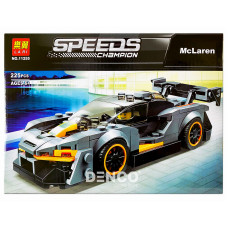 Конструктор Lari 11255 Speed Champions McLaren Senna 225 дет. 26х19х5 смОК11255