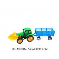 трактор инерц. с прицепом 2 цвета569-1тк135724