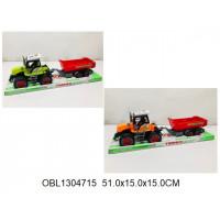 трактор инерц. с прицепом 2 цвета698-12тк135725