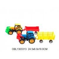 трактор инерц. с прицепом 2 цвета569-2тк135726