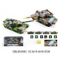 танк р.у. 4 цвета с возможностью танкового боя168-24тк136370