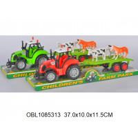 трактор инерц. с прицепом 2 видаFB17-15тк136372