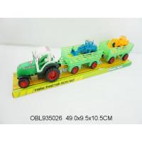 трактор инерц. с прицепами1619-15тк136373