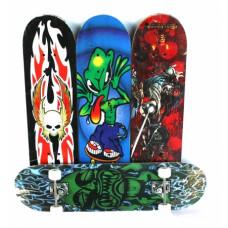 Скейт борд Принт, дека 78х20см пластик, колеса полиуретан, подвеска алюминий, нагрузка до 80кгОКSO-21027