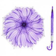 Зонтик детский Цветок матовый 5 цветов, анатомическая ручка.ОКSO-0006