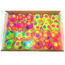 """Игрушка мяч-антистресс """"Цветы"""" светятся 7.5 см 24 шт. в упак. ОКSO-19501-1"""