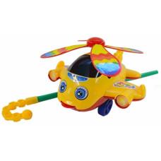 Каталка Самолетик 3 вида  для малышейОК0319