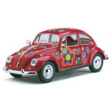 1:24 1967 Volkswagen Classical Beetle раскрашенныйБТ7002FDKT6, 72