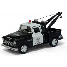 1:32 1955 Шеви Stepside Пикап полиция с краномБТ5330DPKT12, 144