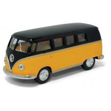 1:32 1962 Volkswagen Classical Bus с черной крышейБТ5376DKT12, 144