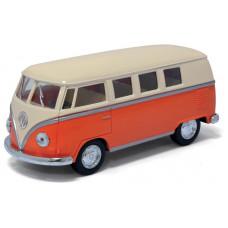 1:32 1962 Volkswagen Classical Bus с бежевой крышейБТ5377DKT12, 144