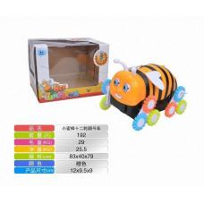 Пчелка перевертыш  в коробке 12х9.5х9смОК3306