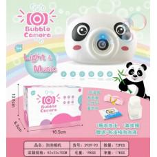 """Детская камера """"Панда"""" с функцией мыльных пузырей музыка+вспышка в кор. 16.5х10х8.3смОК3939-93"""