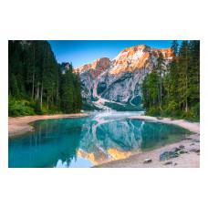 Алмаз. моз. (блест) 30х40 см c подр., с полн. заполн. (31цв.) Озеро в горах (Арт. FS008)РКFS008