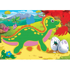 АППЛИКАЦИЯ ФЕТРОМ. Формат А4. Динозавр (Арт. А-2577)РКА-2577