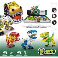 Динозавр интерактивный свет+звук 12шт в упаковке размер 12.5х6.5х11смОКMY66-Q2203