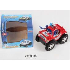 Машинка перевертыш Полиция 13см в коробкеОК5288B