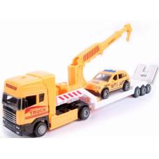 """Набор машин """"Перевозчик машин"""" размер 35х7.5см в упаковке 3штОК889-339"""