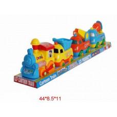 паровоз на батарейках с вагонами на магнитах21-036ТК134360