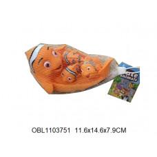 пищалка рыбки 4 шт/сетка21-032ТК134221