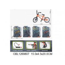 велосипед металл. 4 цвета55011-5ТК133463