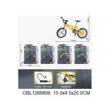 велосипед металл. 4 цвета55010-5ТК133470
