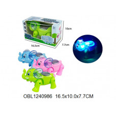 слон на батарейках 3 цвета880-3ТК133235