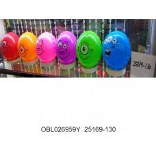 мяч пластизоль  16 см 40г25169-130тк132533