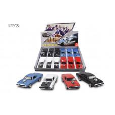 инерц. металл. Dodge Challenger со звуком и светомБТ32121